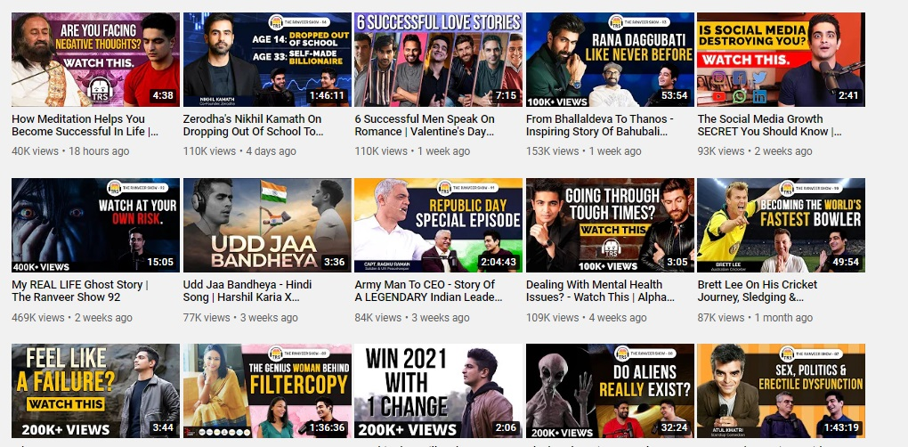 best mens fashion youtube channels in india